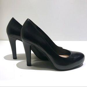 🆕 NWOT Franco Sarto Black Leather Pumps